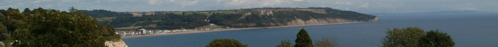 Seaton across Lyme Bay